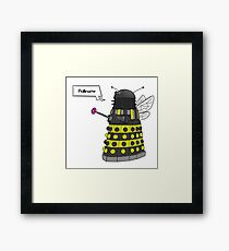 Bee Dalek  Framed Print