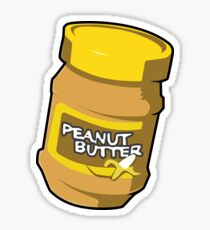 Winston Spray: Peanut Butter Sticker