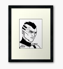 They call me Clanker Framed Print