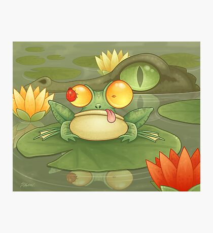 Swamp Snack Photographic Print