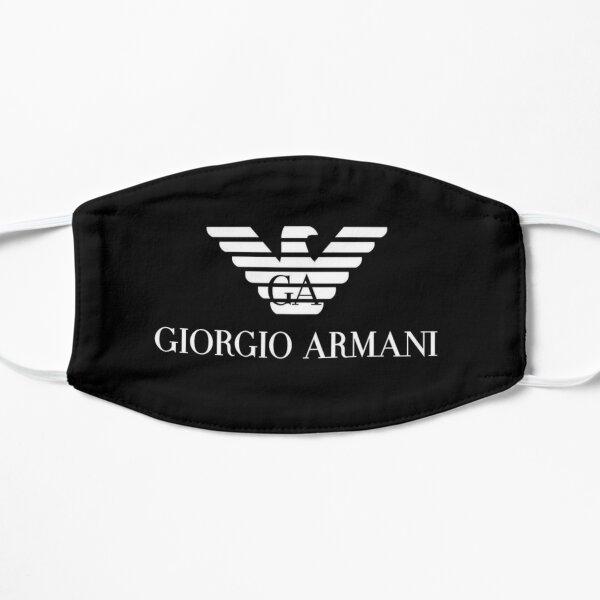 Armani Logo black mask design Flat Mask