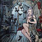The gilded cage steampunk art by punkfaeryart