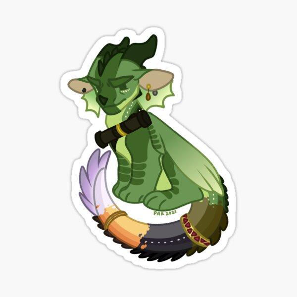 Chameleon - WOF Wings of Fire Sticker