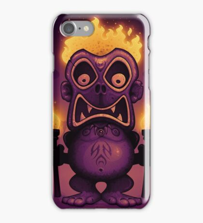 Tiki Munkee iPhone Case/Skin
