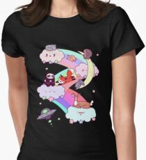 Rainbow Clouds and Animals T-Shirt