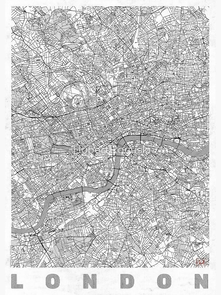 London Map Line by HubertRoguski