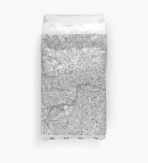 London Map Line Duvet Cover