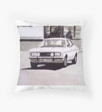 'The Sweeney' Ford Cortina Mk.3 2000GL Throw Pillow