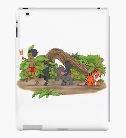 Red Flower March iPad Case/Skin