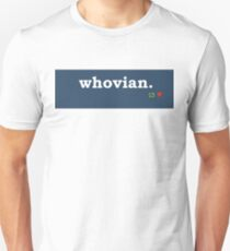 Tumblr-Themed Whovian Tee T-Shirt