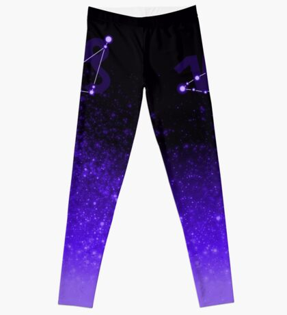 Capricorn - Purple Leggings