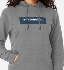 Tumblr-Themed Ackleholic Tee Leichter Hoodie