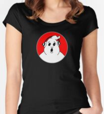 Ghostbusters Minute Podcast Women's Fitted Scoop T-Shirt