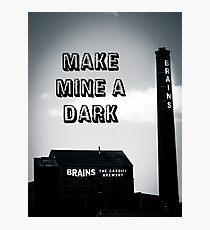 Brains Dark Art Photographic Print