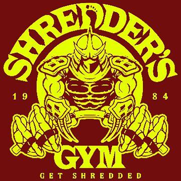 Shredders Gym by SlashPrint