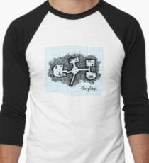 GO PLAY already Men's Baseball ¾ T-Shirt