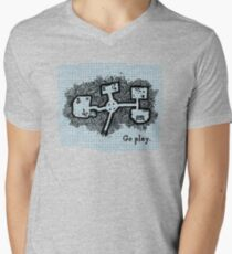 GO PLAY already Men's V-Neck T-Shirt