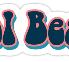 Cool Beans-2 Sticker