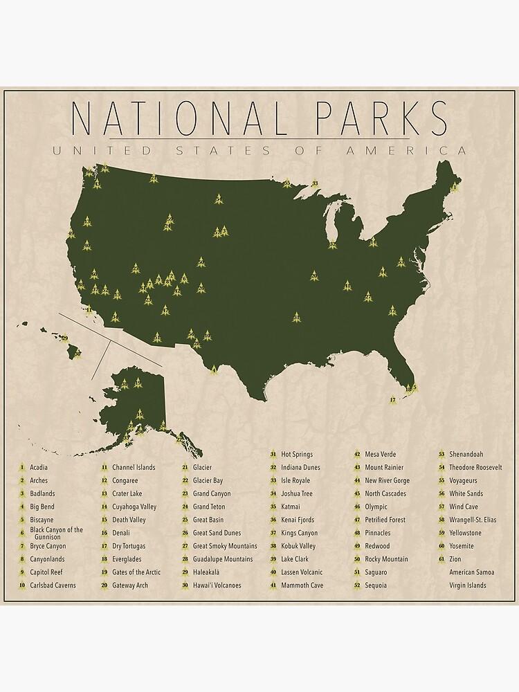 US National Parks by FinlayMcNevin