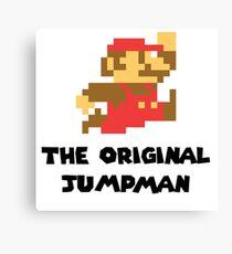Mario - The Original Jumpman Canvas Print