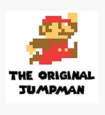 Mario - The Original Jumpman Photographic Print