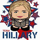 Team Hillary Politico'bot Toy Robot by Carbon-Fibre Media
