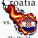 World Cup - Croatia Versus the World by pjwuebker