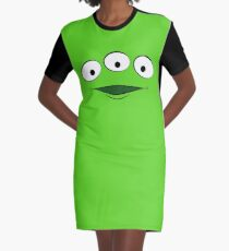 Toy Story Alien - Smile Graphic T-Shirt Dress