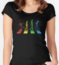 Stray Dog Strut Women's Fitted Scoop T-Shirt