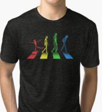 Stray Dog Strut Tri-blend T-Shirt