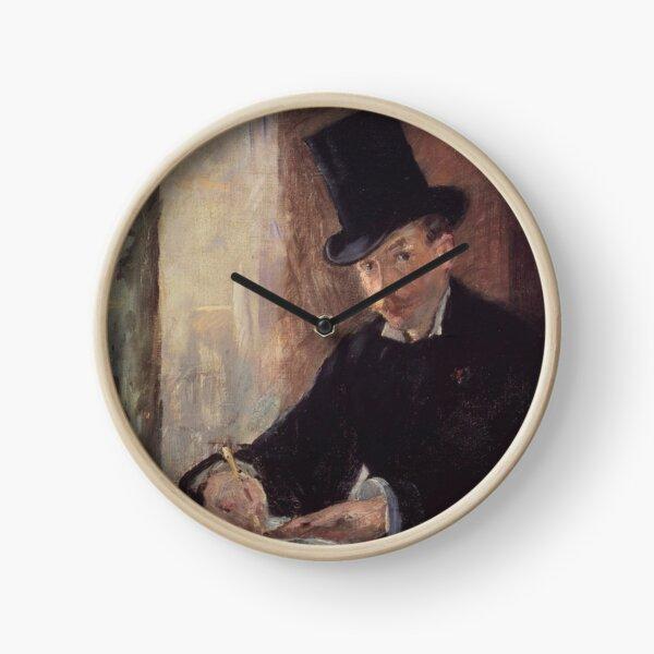 Édouard Manet - Chez Tortoni Clock