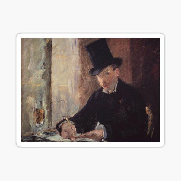 Édouard Manet - Chez Tortoni Sticker