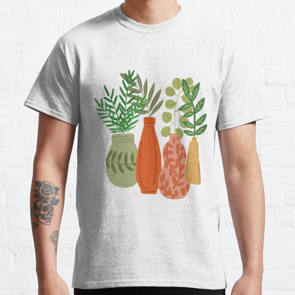 Greenery and Plants in bottles and vases  Classic T-Shirt