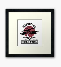Karate Kid - Miyagi Do Framed Print