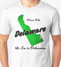 Come Visit Delaware - Light Unisex T-Shirt