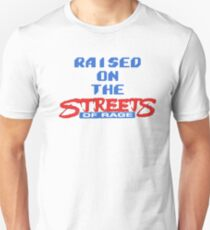 Raised on the Streets of Rage T-Shirt