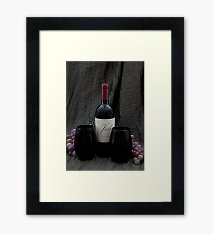 Toasting to the New Framed Print