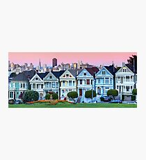 San Francisco Painted Ladies Photographic Print