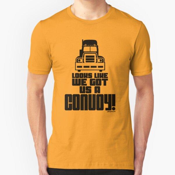 Looks Like We Got Us A Convoy! Slim Fit T-Shirt