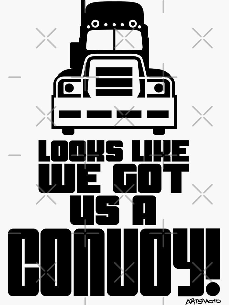 ¡Parece que tenemos un convoy! de monkeycom