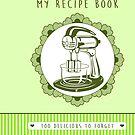 Lime Retro Recipe Book by trossi