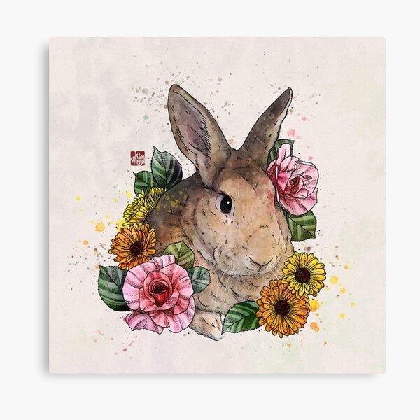 Simmba le lapin Impression sur toile