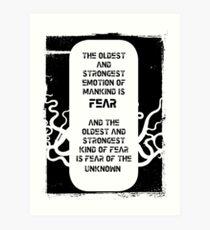 Lovecraft Art Print