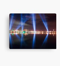 DARK MOFO - Articulated Intersect lightshow Canvas Print