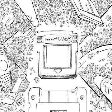 Pocket Power - COLOR ME by BennFried