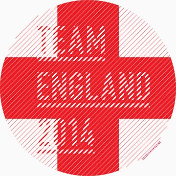 Team England for the World Cup 2014 by everysaturday