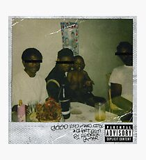 Good Kid M.a.a.d City Cover Photographic Print