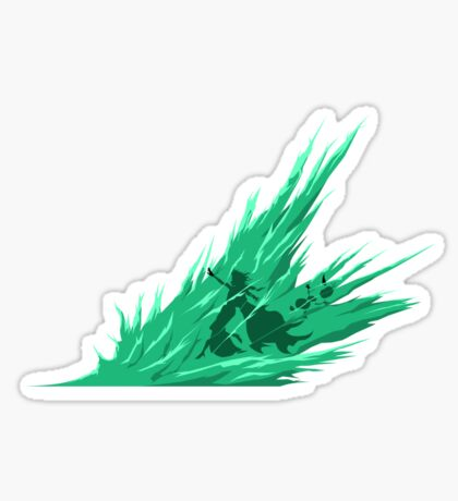 Alpha Freeze Sticker