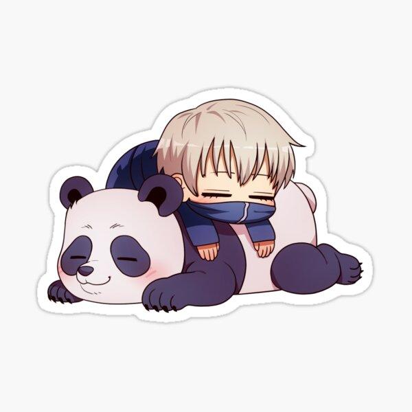 Jujutsu Kaisen - Inumaki and Panda (12/14) Sticker