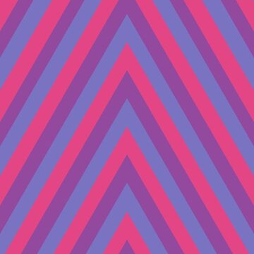 Bisexual Pride Flag Chevrons by themidnightrose